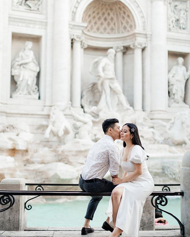 I'll be sharing about our honeymoon on the blog this week! 📸: @irinaodoardi.photographer