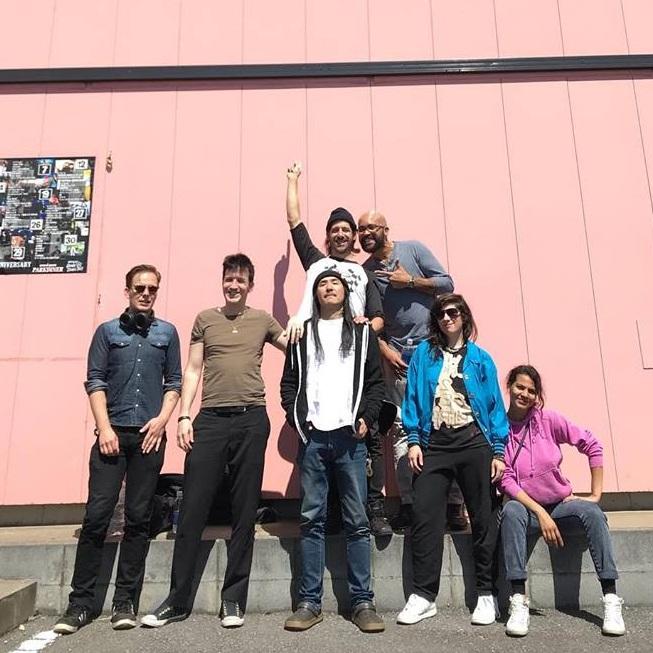 The crew in Tsukuba