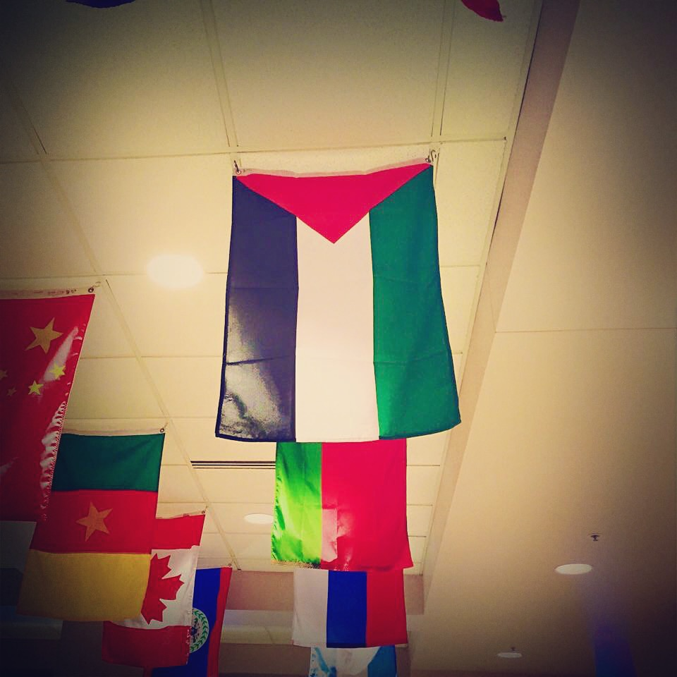 The Palestinian flag was raised in Marquette University's Alumni Memorial Union after Students for Justice in Palestine asked the administration to do so.