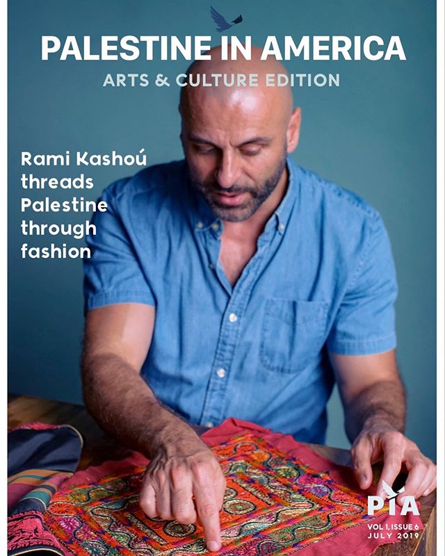 Our Arts & Culture issue just went to press and will be sent to our subscribers early next week!  If you haven't already, subscribe to Palestine in America to receive this and every future digital and print issue we produce. In this issue, we feature fashion designer Rami Kashoú plus much more.  Remember, you can celebrate this issue and the rest of the work we do at our annual Palipalooza event in the Chicagoland area by purchasing a ticket at palestineinamerica.com  #palestineinamerica #palipalooza #arts #culture #palestine #design #fashion #couture #ramikashou #tatreez