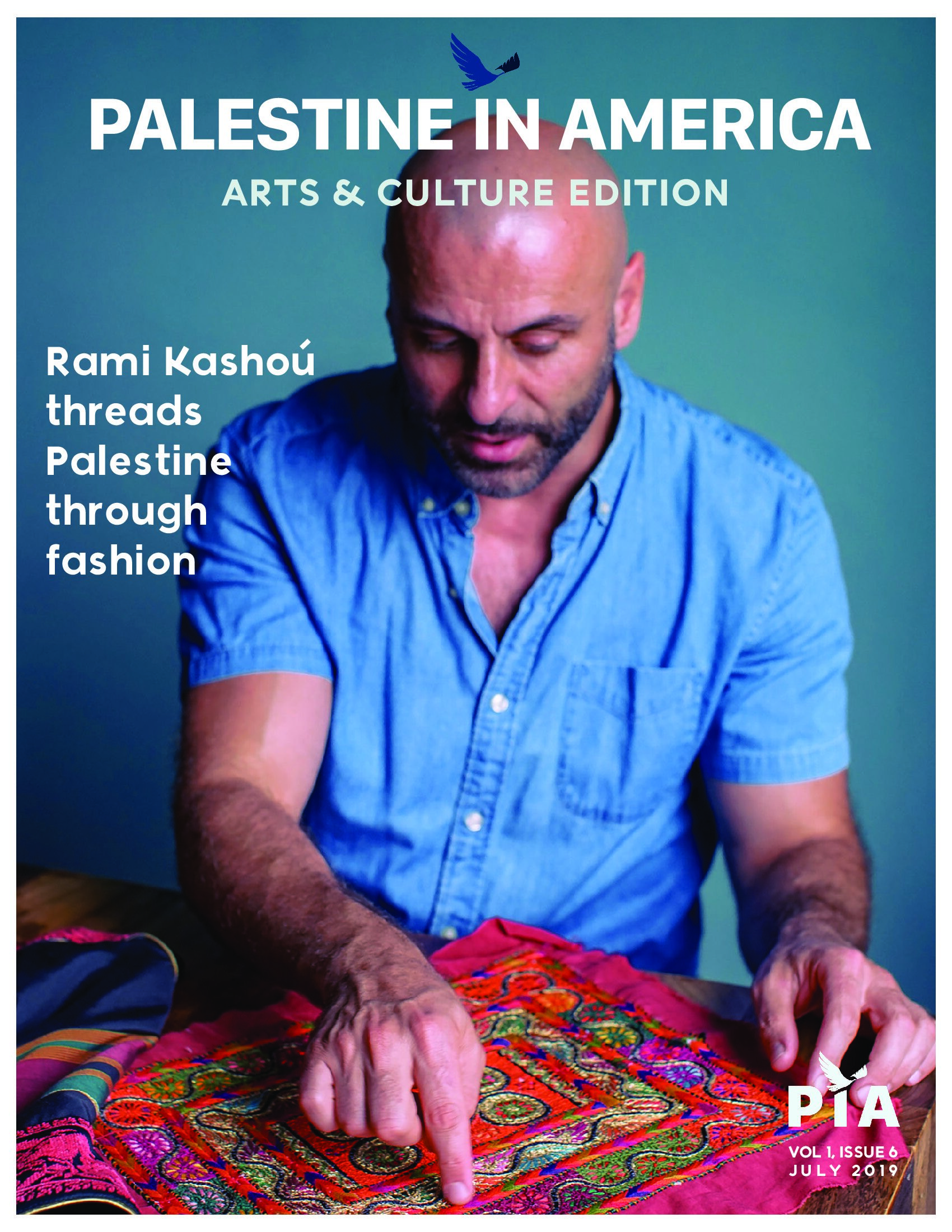 ORder your copy of Palestine in america's arts & Culture issue today! - Become a subscriber for $5/month to make sure you receive our quarterly issues first and get exclusive discounts on merchandise and Palipalooza!