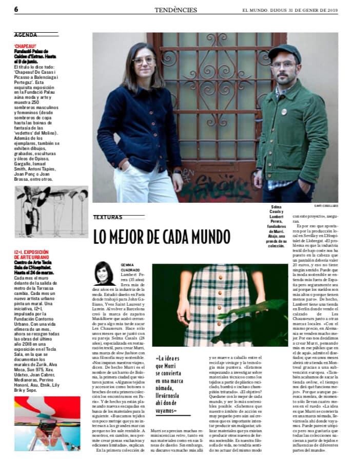 Newspaper El Mundo