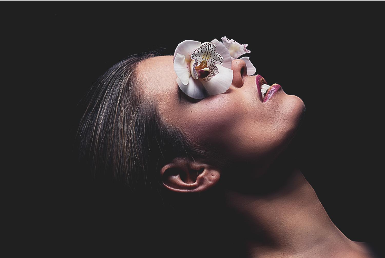 Jeana Orchid eyes 2 Framed photoshop 2017.jpg