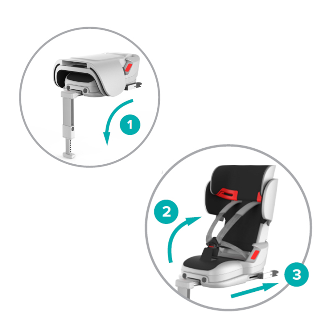 TinySeats Car Seat for Children - Installation steps