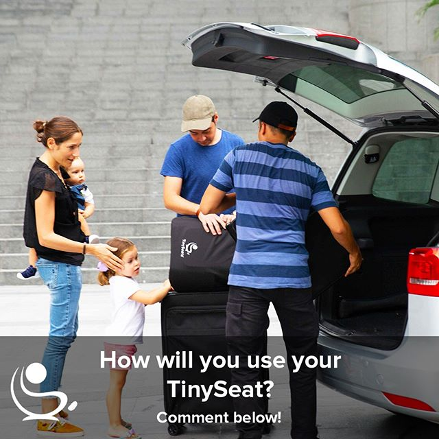 ⚡️QUESTION TIME⚡️⁠ ⁠ We're in the final countdown of our Indiegogo campaign. Only 4 days to go and a few units left! (Link in Bio.)⁠ ⁠ Time for one last poll!⁠ ⁠ TinySeats are ideal for many situations - from commuting in the city, traveling abroad to providing grand parents and other caretakers with an easy to install option and more.⁠ ⁠ How will you use TinySeats? ⁠ ⁠ A) Commuting in the City⁠ B) Traveling Abroad⁠ C) Both⁠ D) Other⁠ ⁠ Let us know! Comment below! ⁠ ⁠ #childsafety #childsafetyseat #carseat #carseatforkids #carseatforchildren #childrenscarseat #innovativecarseat #newcarseat #easycarseat #kidssafety #innovativecarseat #childsafety #childrenssafety #keepkidssafe #protectingyourchild #protectyourchild #childprotection #kidsproducts #babystuff #kidsstuff #forkids #forchildren #designforparents #byparentsforparents #roadsafety #safetyontheroad #carseats ⁠#TinySeats #Indiegogo⁠ #safe⁠