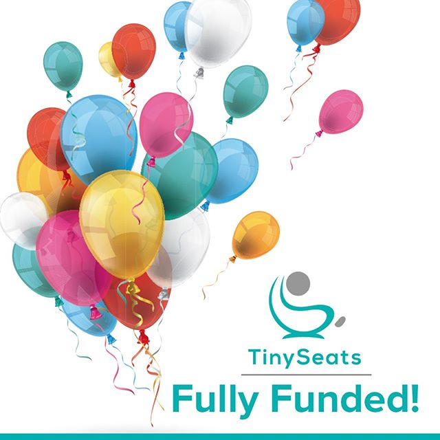 Exciting news! TinySeats is fully funded! 🥳🥳🥳⁠ ⁠ Thank you so much for all your support! We're excited to have you part of our journey. ⁠ ⁠ Now that our Indiegogo campaign is complete, we can move on to the next phase to get your TinySeats ready for delivery from October onwards. ⁠ ⁠ Stay tuned for the latest updates! ⁠ ⁠ #childsafety #childsafetyseat #carseat #carseatforkids #carseatforchildren #childrenscarseat #innovativecarseat #newcarseat #easycarseat #kidssafety #childsafety #childrenssafety #kidsproducts #kidsstuff #forkids #forchildren #designforparents #byparentsforparents #roadsafety #safetyontheroad #carseats ⁠#TinySeats #Indiegogo⁠ #fullyfunded #crowdfunding #crowdfundingcampaign #campaignupdate #success #happy #celebration