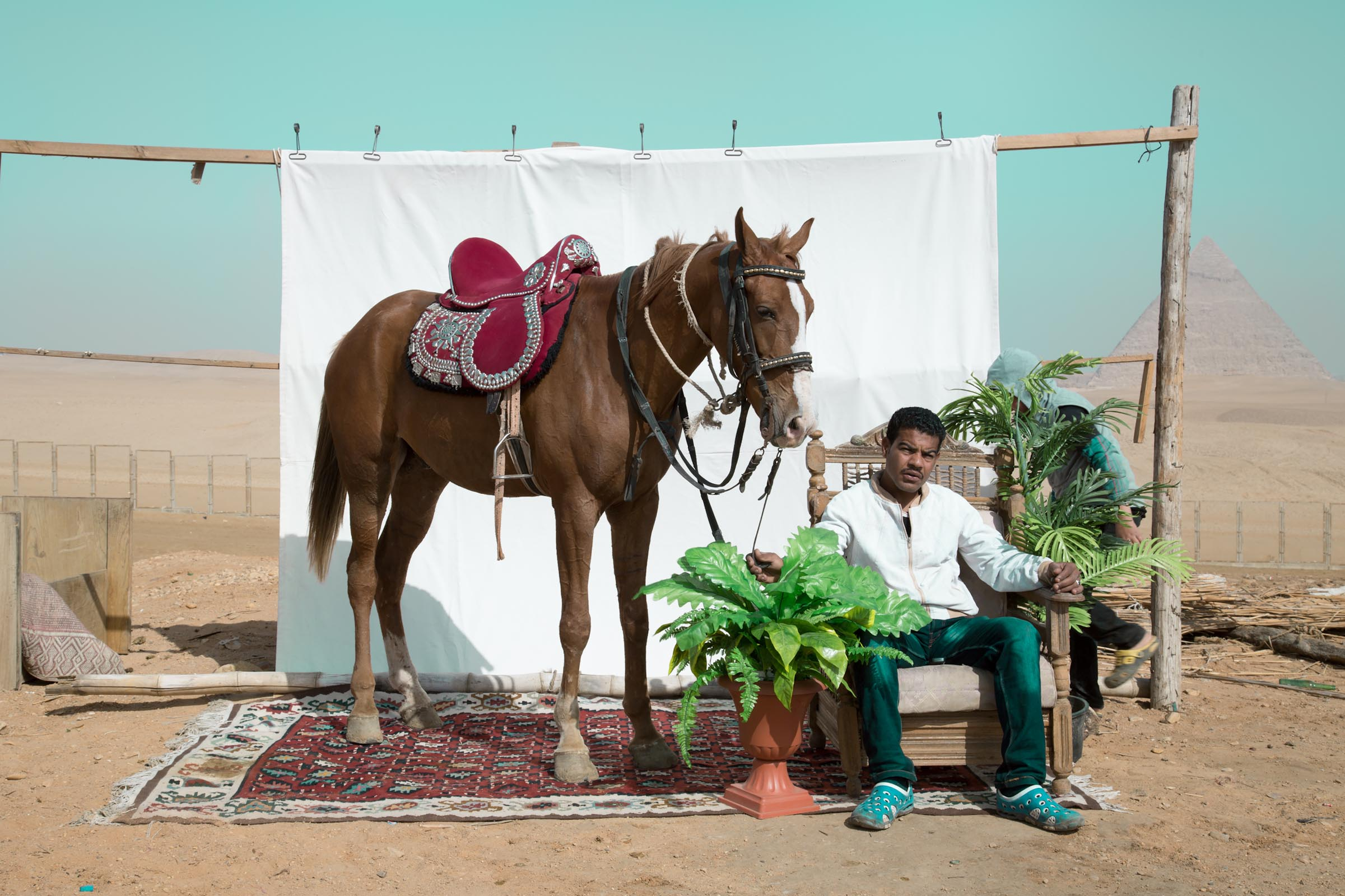 Bryony Dunne Mohamed with Fahimey (horse) 2017