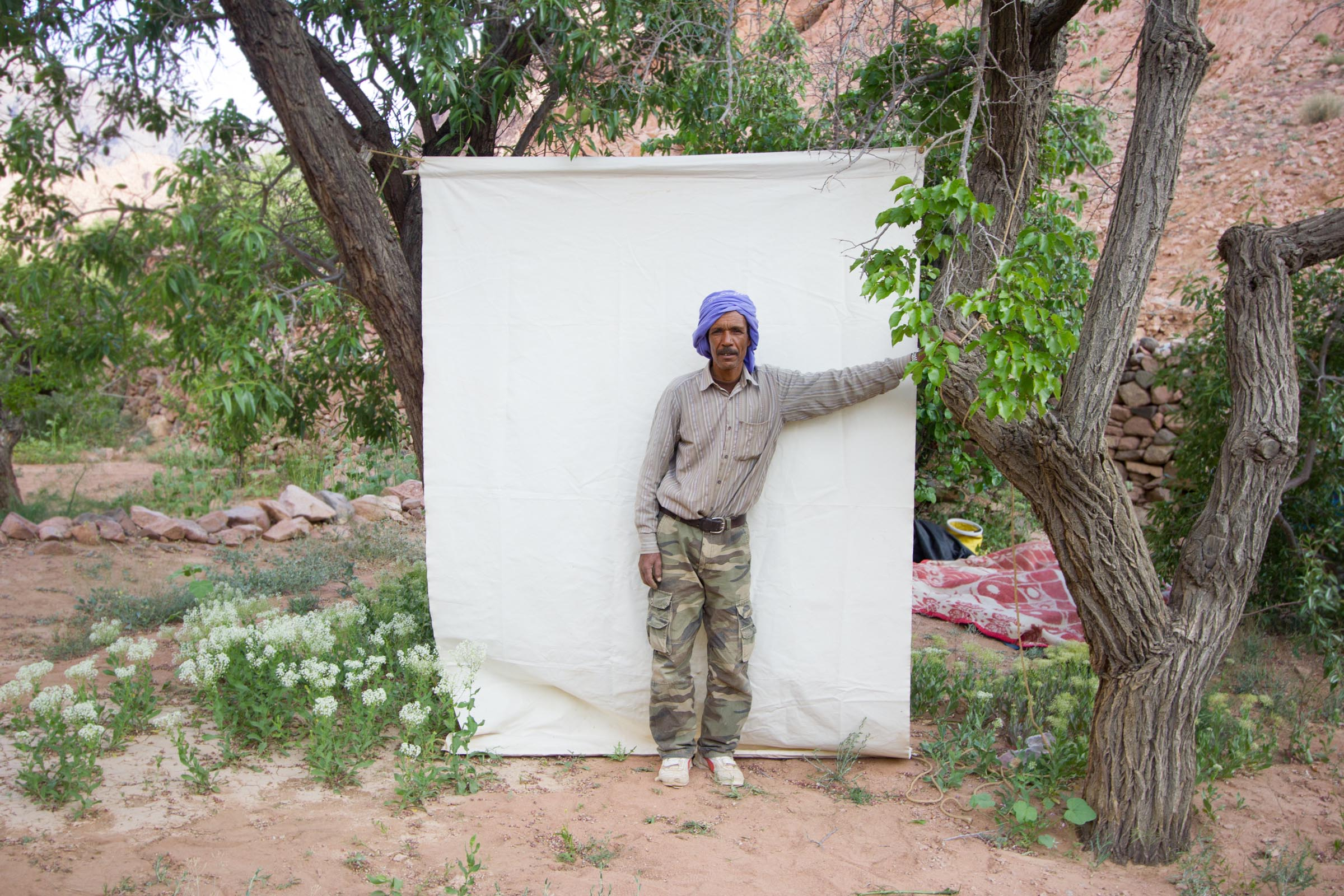 Bryony Dunne Hussein Musa Wadi Zawatin. 2013