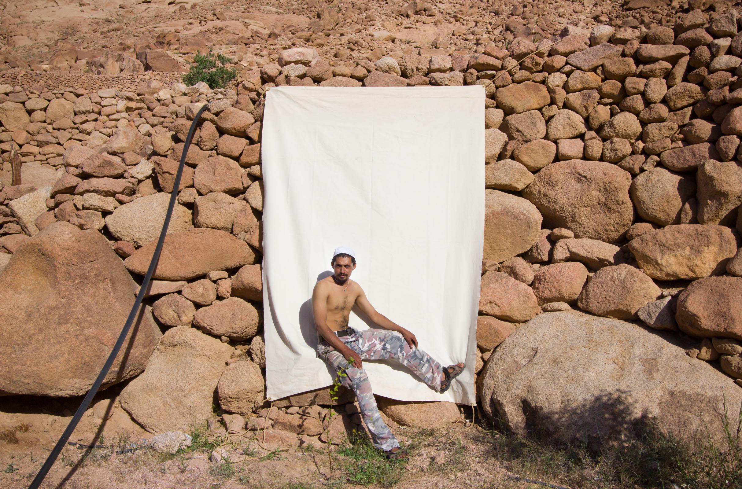 Bryony Dunne Salama Eid Wadi Sharegg 2013
