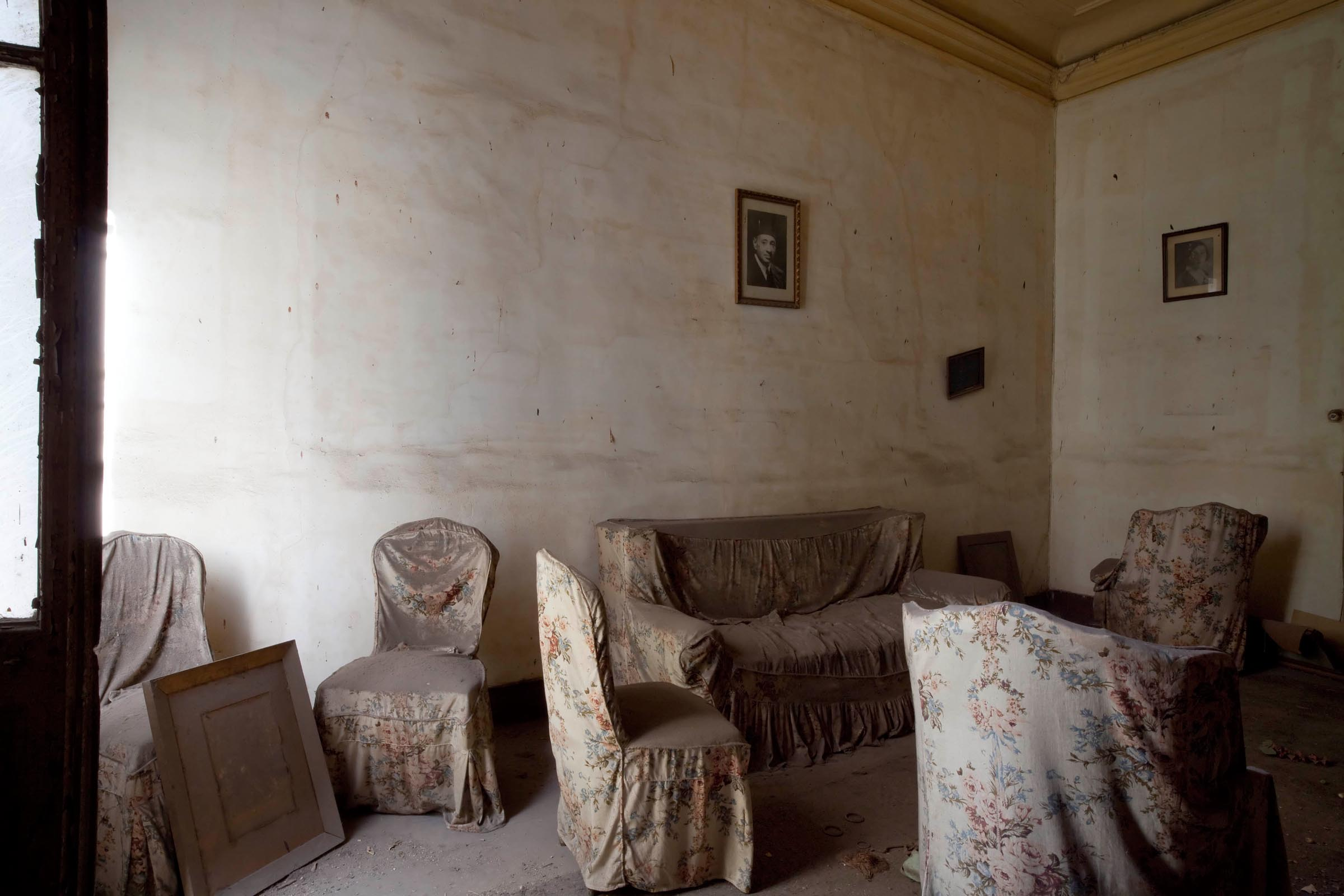 Xenia Nikolskaya Empty Apartment on Mahmoud Bassiouni street Cairo 2010