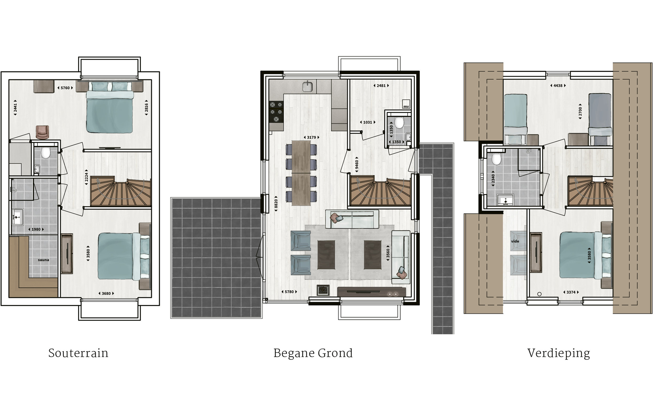 Kenmerken - - Rietgedekt - Gevel van metselwerk met gevelstuc- Vier slaapkamers- Twee badkamers met inloopdouche en sunshower- Sauna- Compleet ingerichte keuken- Woonkamer met vide- Houtkachel- Glazen hoekpui- Buitenberging