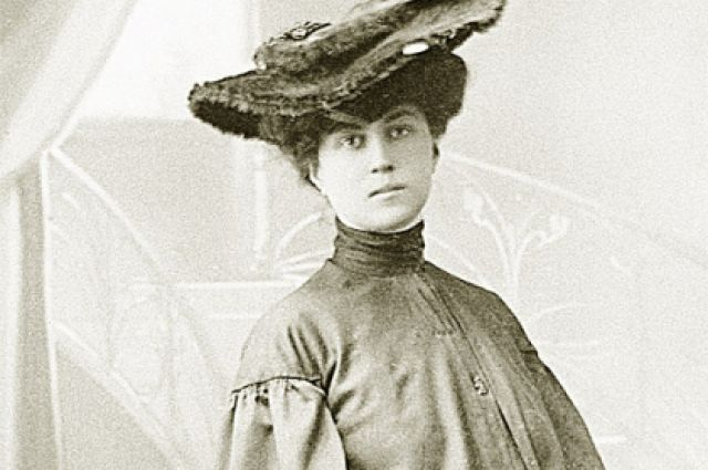 Kollontai as a young woman in Tsarist Russia