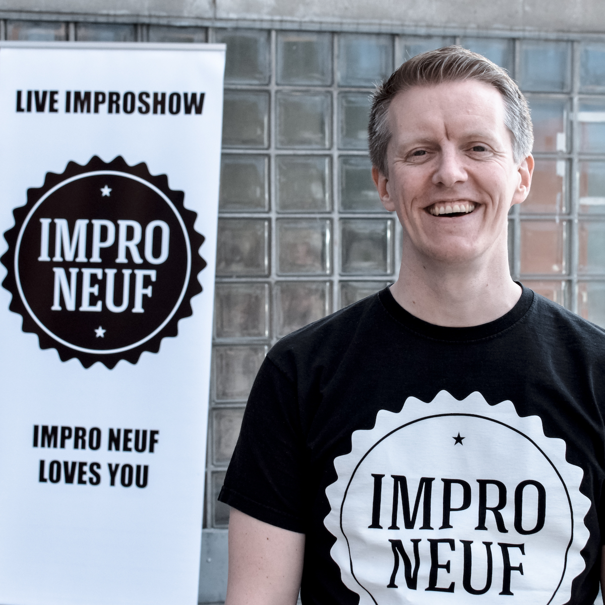 TERJE BREVIK - WORKSHOPS & PLANNING  Terje is the guy who started the festival back in 2017, in addition to being the leader of Impro Neuf since the very beginning (and stepping down this year). He keeps busy organizing, teaching, coaching and performing in Norway and abroad, despite having an unpronouncable name. He'll respond to anything though. Catch him on stage with Marienettes, Bad Booty Call and the lovely duo Pusekatt. Or falling off a small curb on his skateboard. Terje is also the founder of Tøyen Impro, an improv school for everyone, and MindMeld, an applied improv company. If you want to read his mind please visit  medium.com/@terje.brevik .