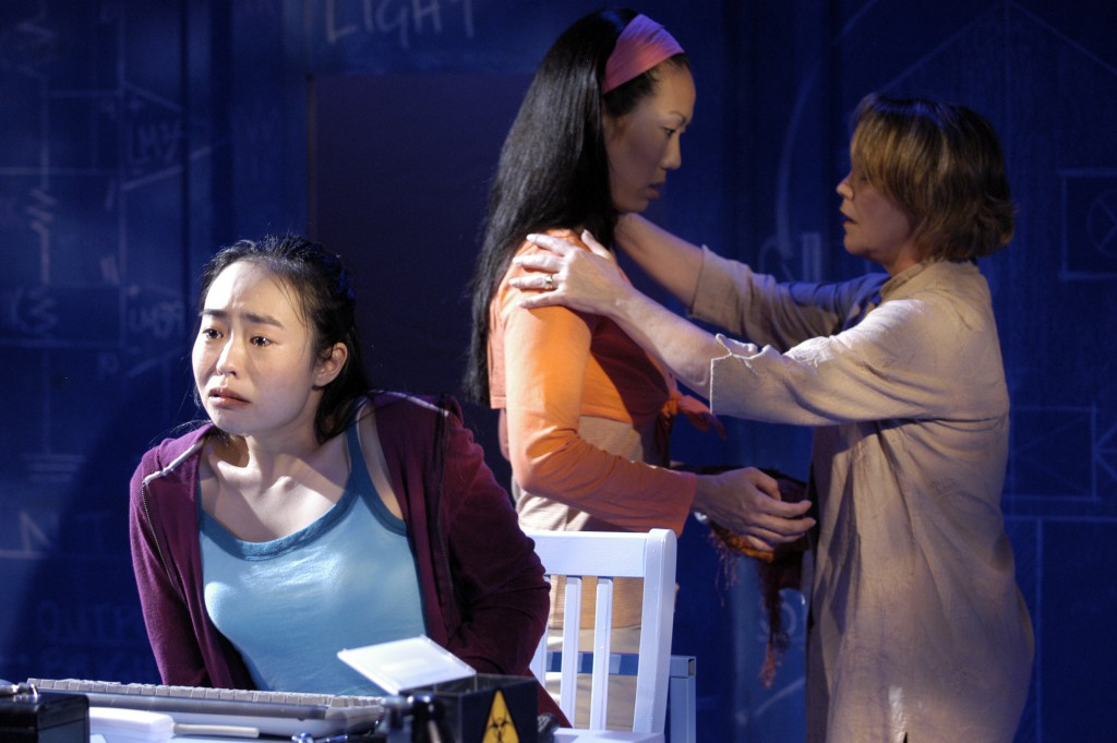 Photo by Scott Suchman. Shown with Mia Whang and Charlotte Akin.