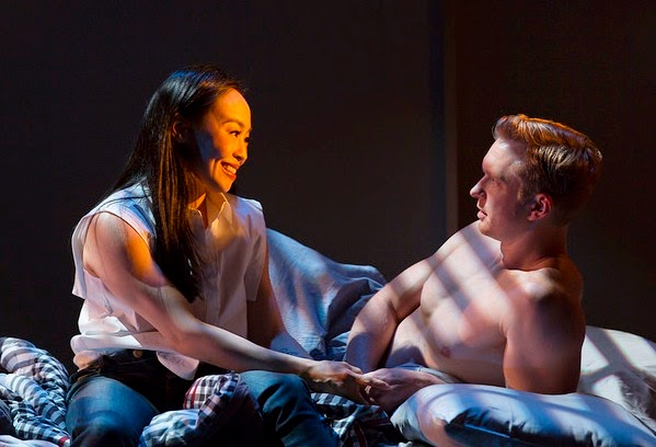 Photo by T. Charles Erickson. Pictured: Eunice Wong, Roderick Hill.