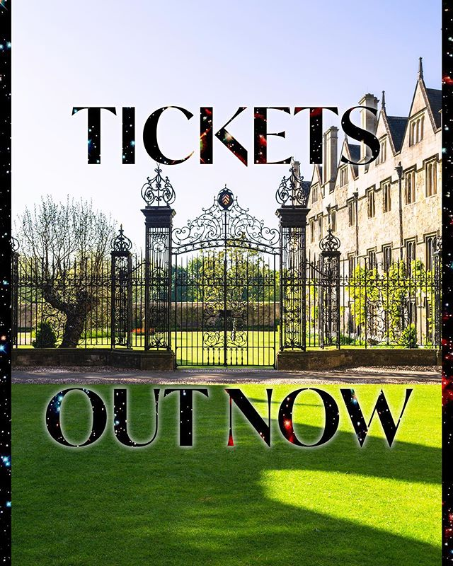 MERTONIAN TICKETS OUT NOW! 💫  You will all have received an email with the FIXR links to purchase tickets for yourselves and up to four guests.  We look forward to welcoming you to Oxford's only white tie winter ball this November!