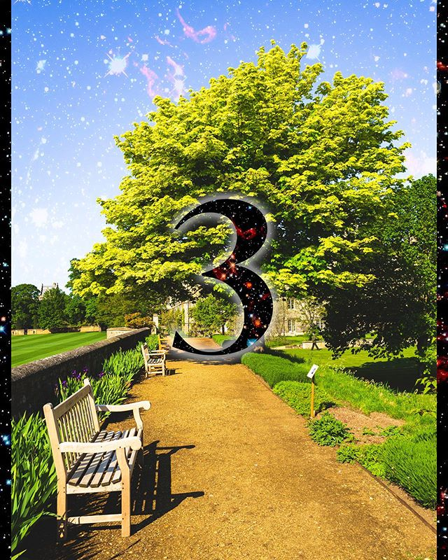 ⋈ GENERAL RELEASE IN 3 DAYS ⋈  Merton Winter Ball 2019 General Release is getting ever closer!  Keep an eye on our social media over the coming days for information about the charities that your MWB tickets will be supporting!  Image Description: A photo of a path in Fellows' Garden. The number 3 is placed in middle of the image and Merton Winter Ball-themed stars are superimposed across the sky.  #MWB19