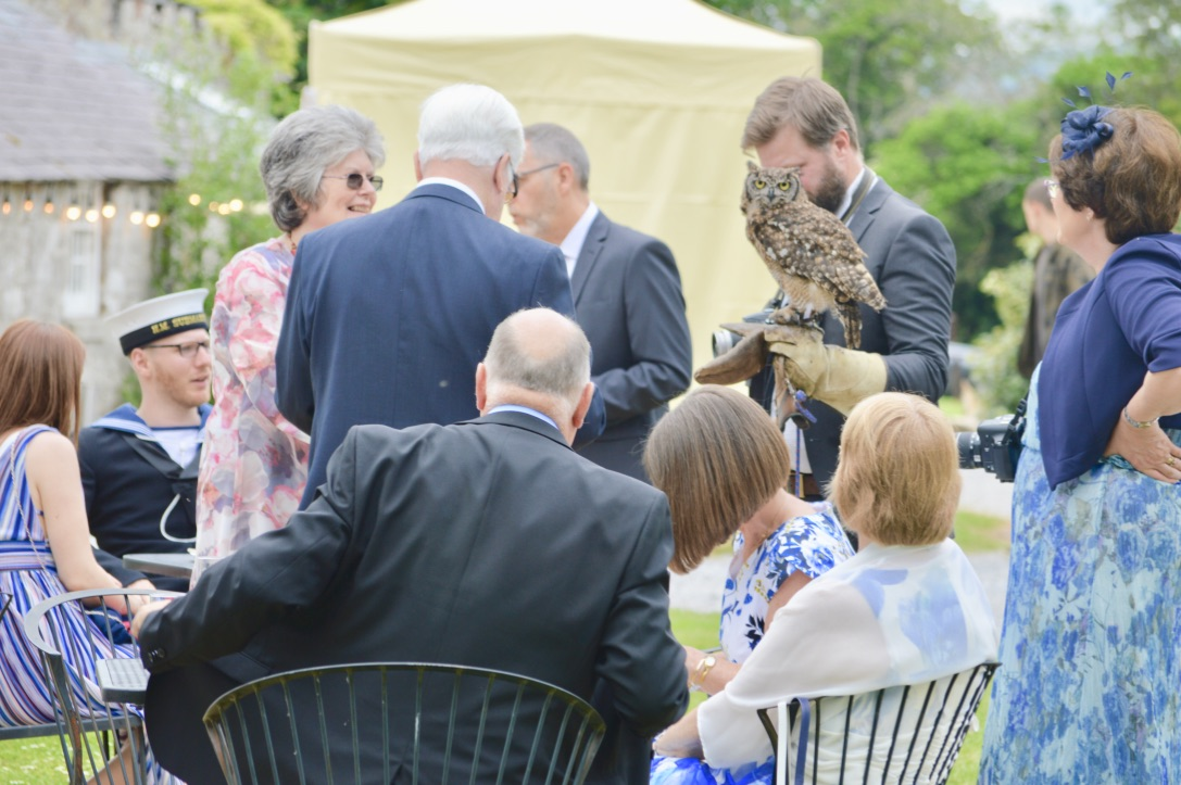 Richard the Falconer and his wonderful Owl!