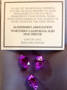 wedding-party-favor-gift-donation-sled-dog-rescue-alzheimers-association-Sound-In-Motion-Entertainment-Group-Wedding-DJ-SF-Bay-Area-Uplighting-Decor-Photobooth-Event-Production-San-Jose-San-Francisco-Santa-Cruz-Monterey-225x300.jpeg