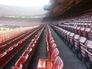 Candlestick Park stadium seats
