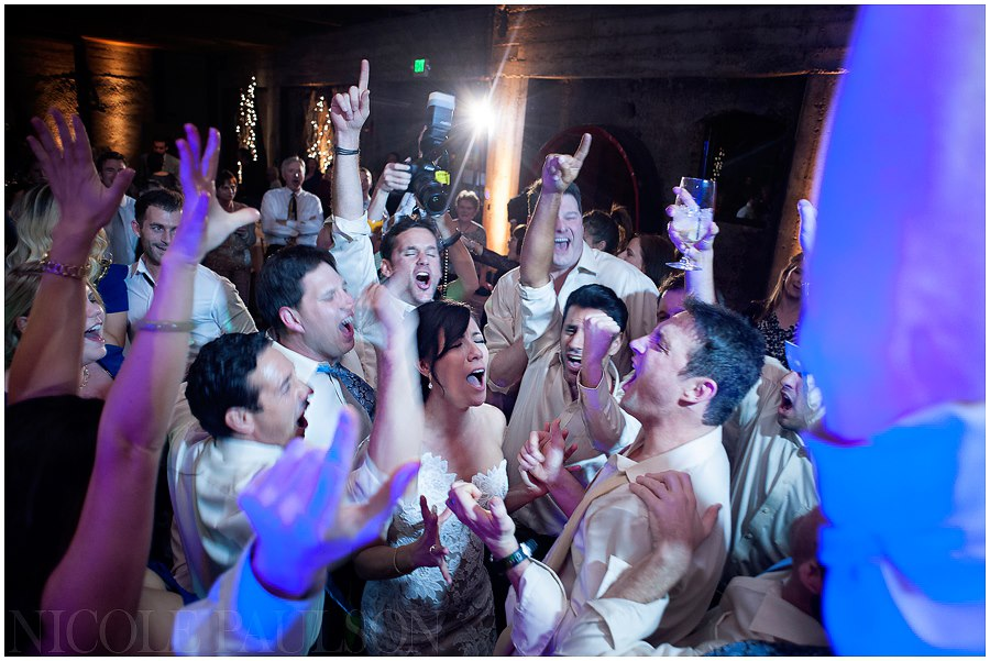 Wedding Reception Sing A Long at The Mountain Winery