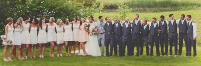 How big is your bridal party?