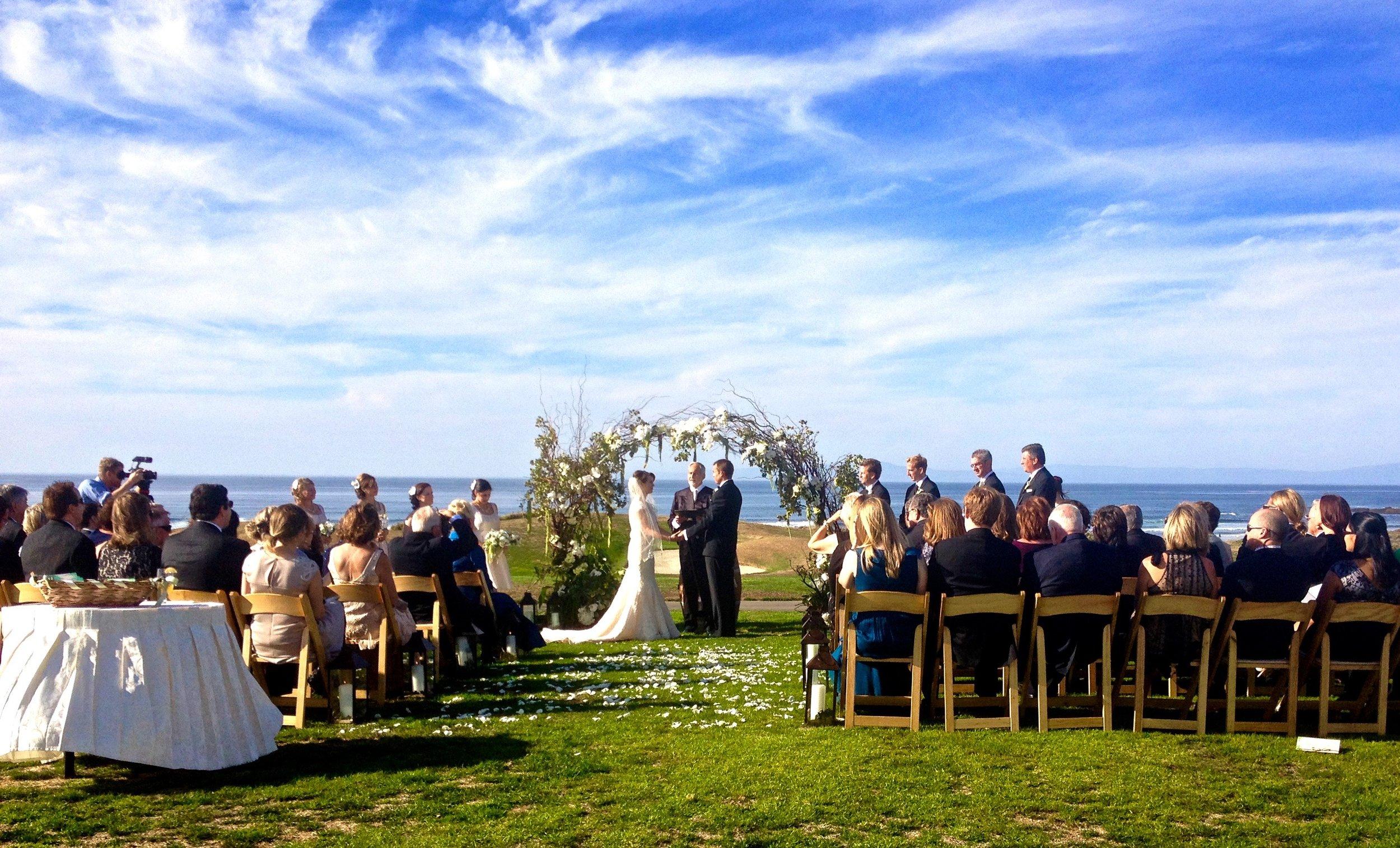 Ceremony on the coast