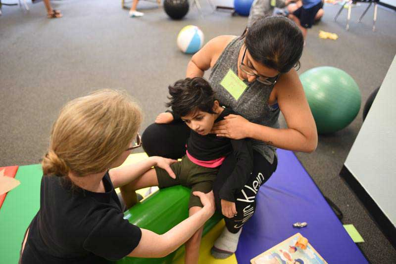 Physical Therapy - UCP's Physical Therapy program focuses on preserving, developing and restoring physical function. Our physical therapy providers incorporate the use of diverse approaches, techniques, devices, physical agents and modalities to help each child reach their individual goals.