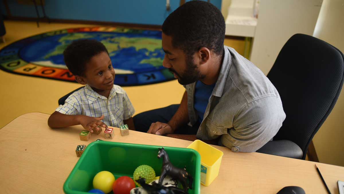 Speech Language Therapy - UCP's Speech Language Therapy Program focuses on developing verbal and non- verbal communication skills and on remediation of oral-motor and feeding challenges. Our providers incorporate a variety of treatment techniques, approaches and devices to facilitate the achievement of each child's goals.