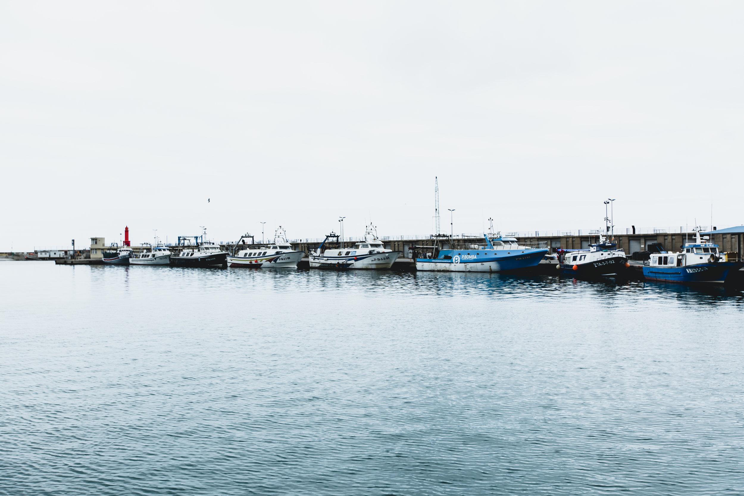 Cambrils harbor