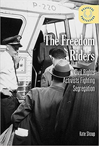 The Freedom Riders: Civil Rights Activists Fighting Segregation - In 1960, the Supreme Court ruled that interstate travel could not be racially segregated. But in the South, this decision brought about little in the way of change. Interstate busts and trains remained segregated, as did restaurants, restrooms, and waiting rooms in bus and train terminals. In 1961 a racially diverse group called the Freedom Riders challenged this segregation. Although they faced overwhelming violence, more than 400 people joined the movement. This book provides a comprehensive look at the bravery of those involved, describes the racism that protesters fought, and outlines how peaceful tactics ultimately led to the desegregation of interstate transportation.