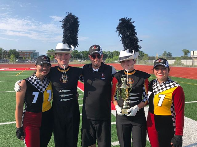What a spectacular weekend of racing capped off by 4 phenomenal 'laps' today in Alexandria!  We couldn't be prouder of all the students involved and want to give a S/O to all of the other amazing bands we shared the street with this summer!!! Now we head to Texas! #HUP #mapsready #TheRace19 🏁
