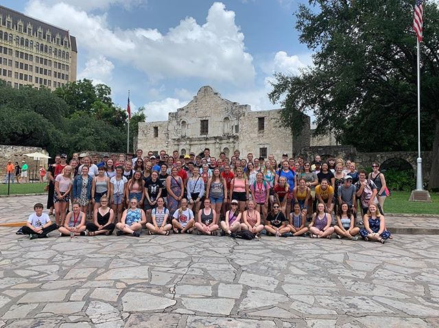 We're enjoying our first day deep in the heart of Texas!!! Tomorrow we Race! #RememberTheAlamo #HUP #mapsready 🏁