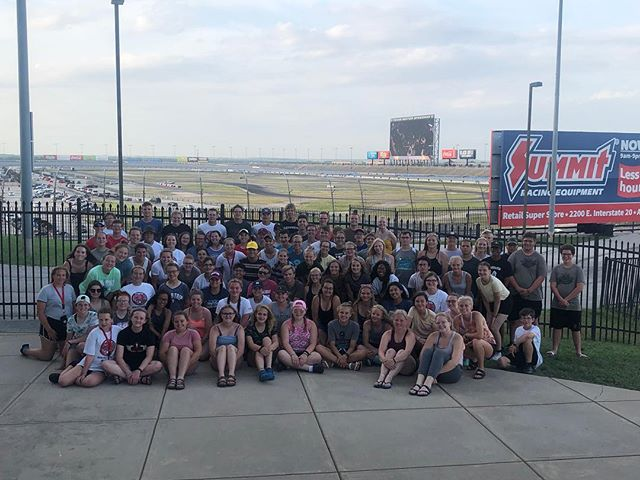One last quick pit stop in Texas before we race back to Minnesota!  It's been a great trip and we are all so proud of these Lancers! #HUP #mapsready #TheRace19 🏁