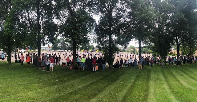 We ❤️ our community and today we give back!  Awesome performance this morning at MRCI and on to a great afternoon at @mankatothunderofdrums! #HUP #mapsready