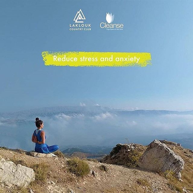 Reduce Stress and Anxiety! . . Join Maysa's outdoor yoga classes in this year's Wellness and Energy Boosting Retreat! . . Book your places the soonest for August 24-25-26 and enjoy a much needed peaceful moment! LINK IN BIO: @localfitt . . For more information and Bookings call:  Lara, your host: 70 0707 21 Michella, your dietician: 03 634 064 . . #wellnessretreat #energyboost #yoga #stressfree #staycation #health #detox #yoga #caving #hiking #ecotourims #mountainvacation #aquagym #detoxdiet #vegandiet #detach #detoxify #activities #resort #pool #lakloukcountryclub #cleanse #liveloveakoura #livelovelaklouk #livelovebeirut #fitness #mountains