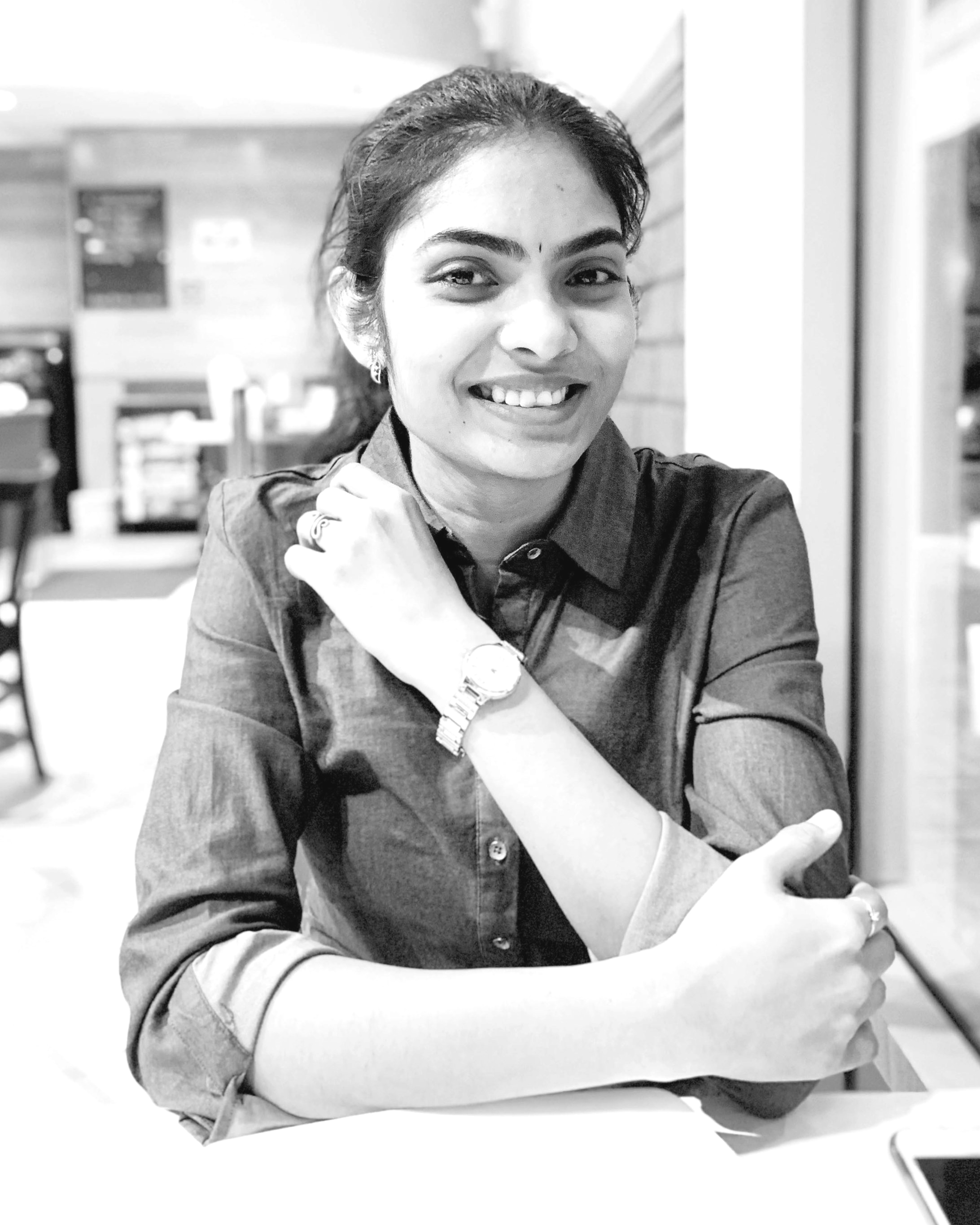 Hello! - I am Madhuri Putta, a Graphic Designer from India and now based in Austin, Texas. Having possessed a problem-solving creative design solution to the potential tasks, I am a passionate brand designer with excellent typography and printing skills. Also am skillful at comping, crafting, color scheme usage and paying attention to details, interested in logo designing, packaging, and layout design. I also have the zeal to learn about product designing and web designing. Being a thinker, I enjoy poetry which enhances my thought process to look at things in life artistically. Additionally, talented in Carnatic music (vocal) and Kuchipudi dance, a traditional dance form of India. Plays Volleyball and Badminton. I believe in spiritual cleansing and so practices Yoga and Meditation.