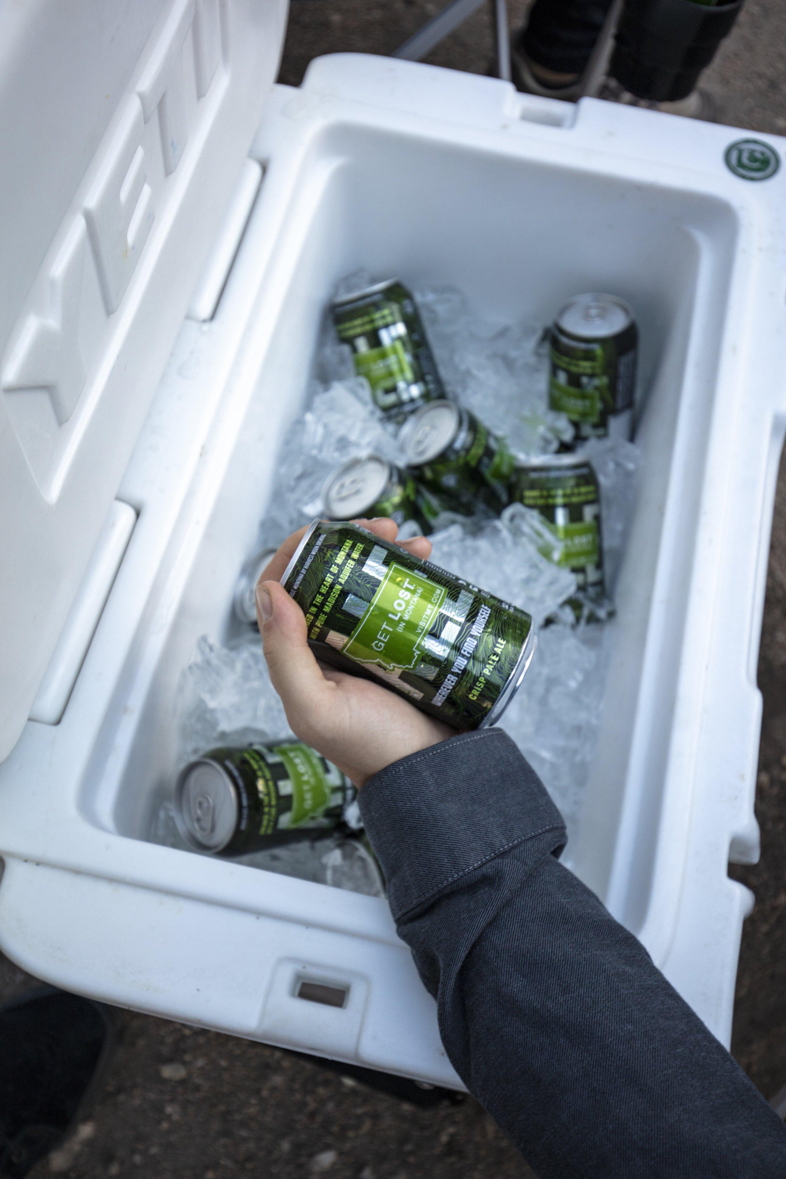 Get Lost Ale Cooler