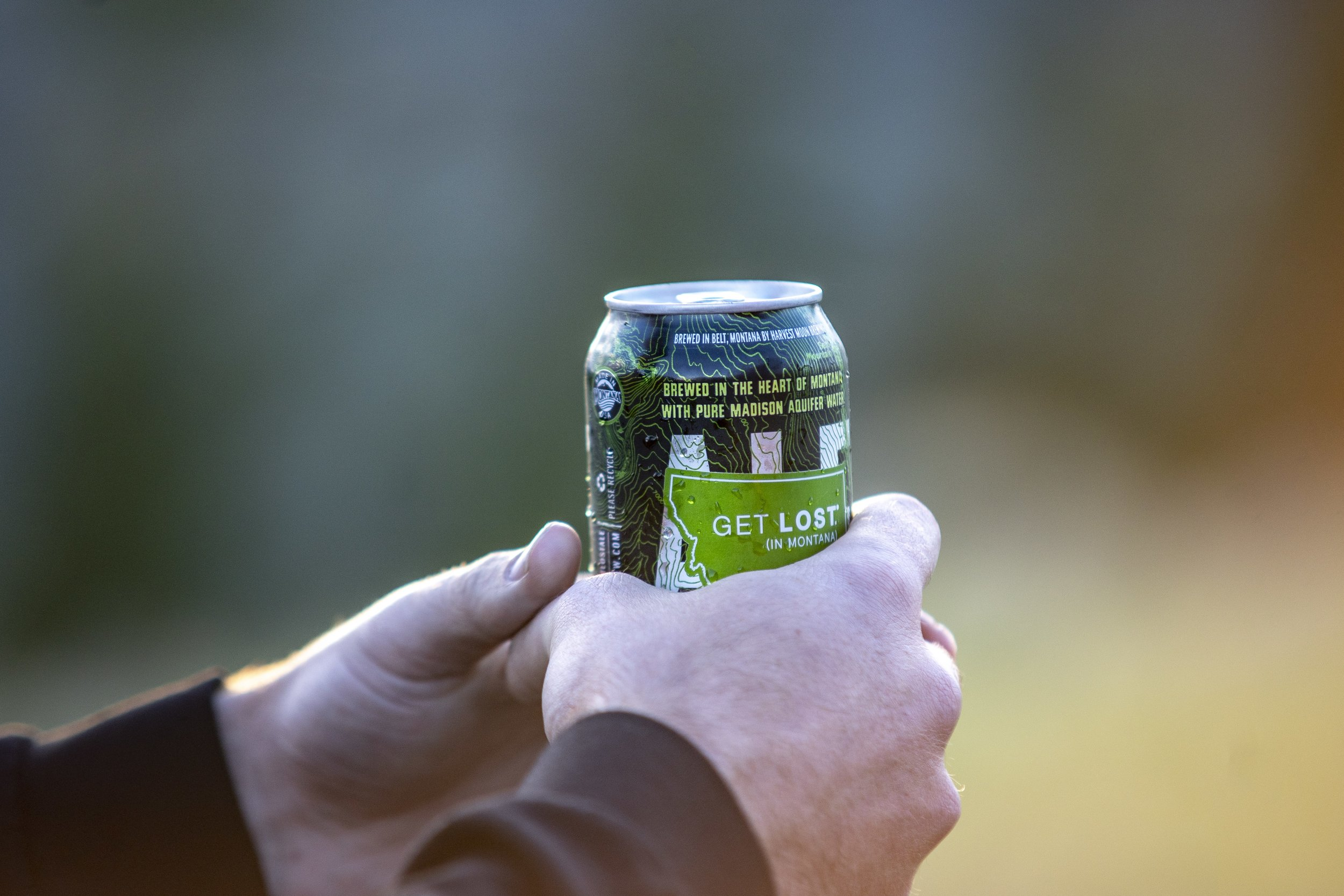 Get Lost Ale Can