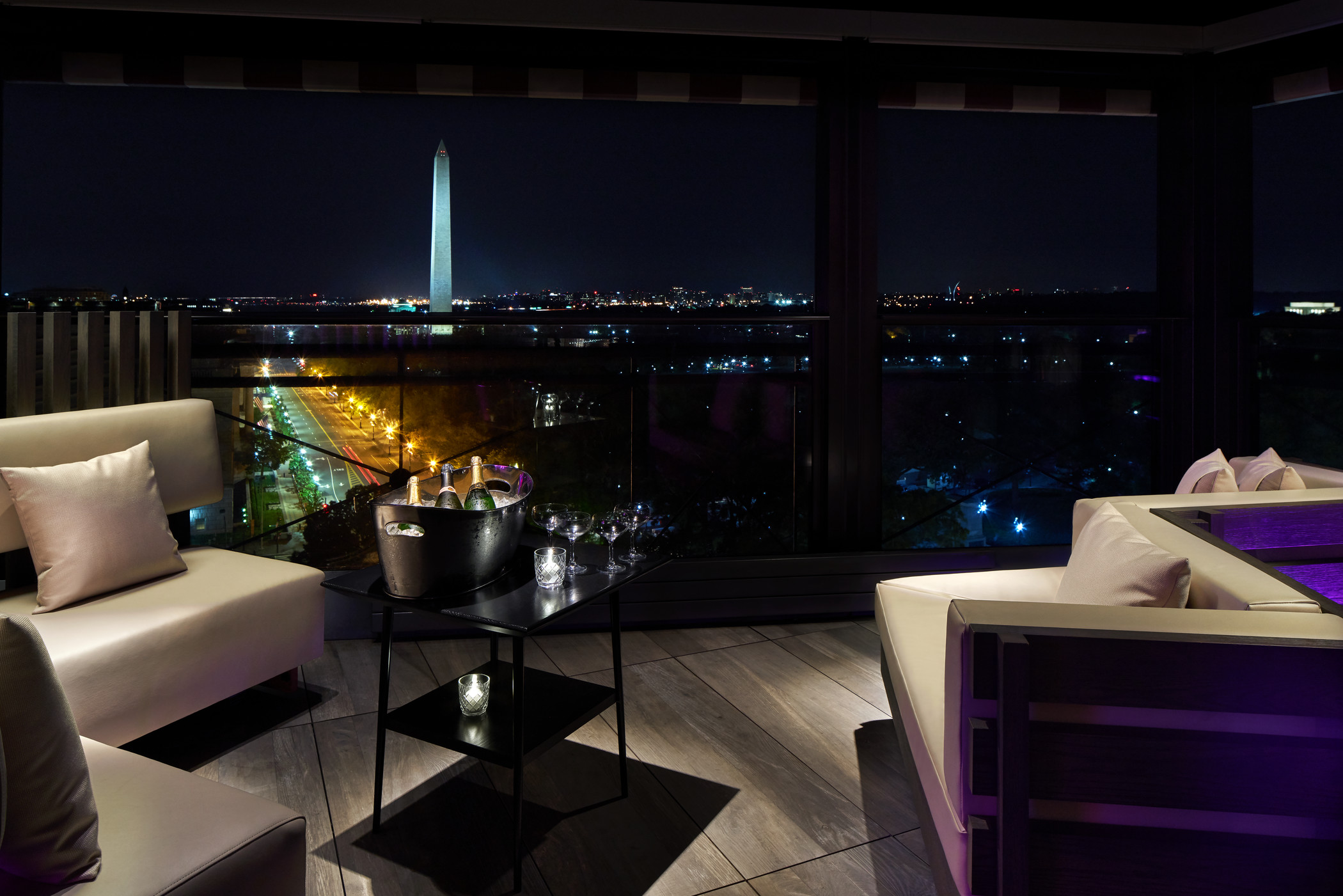 Pov Rooftop Bar And Restaurant In Dc