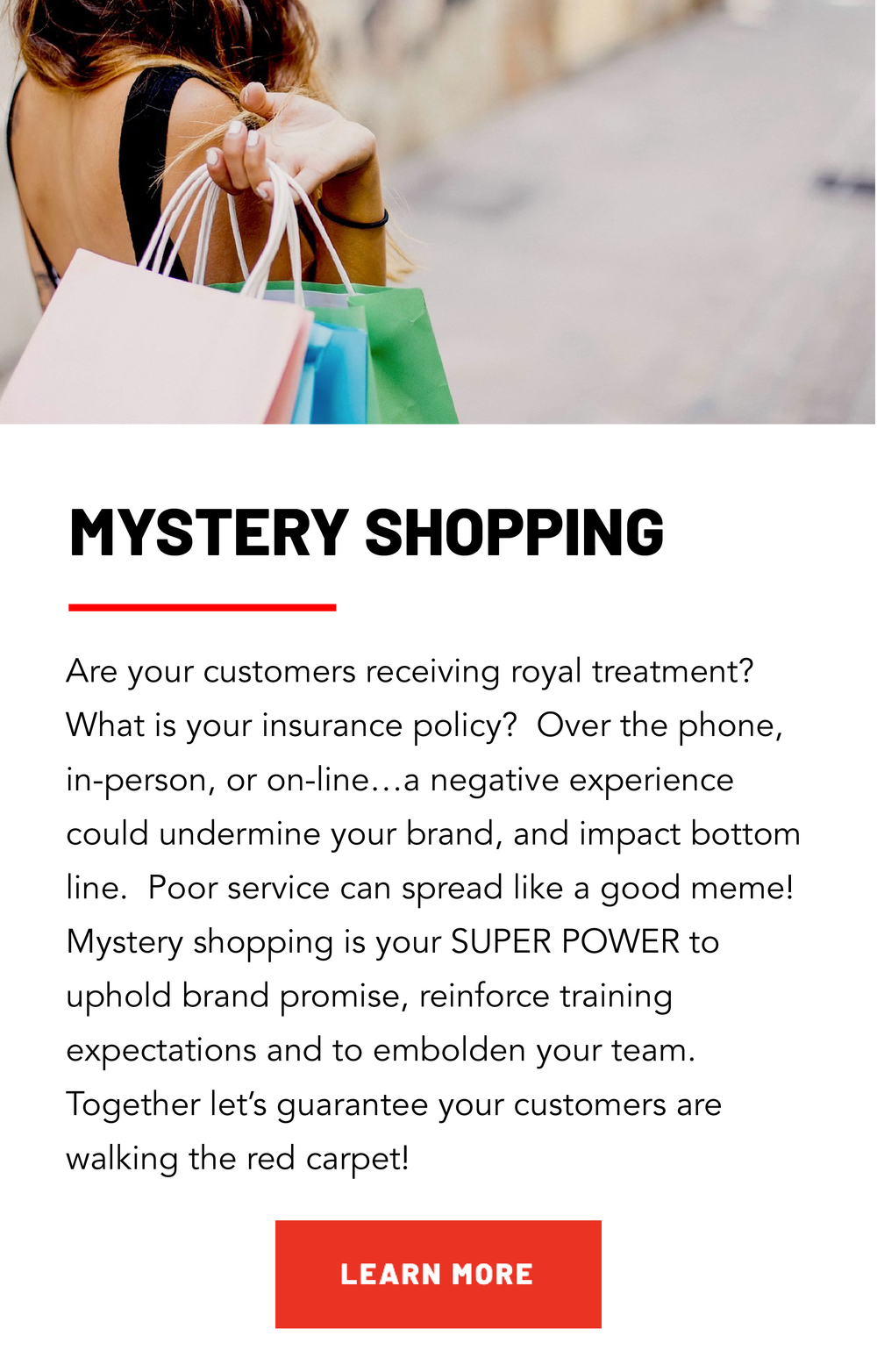 Services Gallery — Cirrus Marketing Intelligence