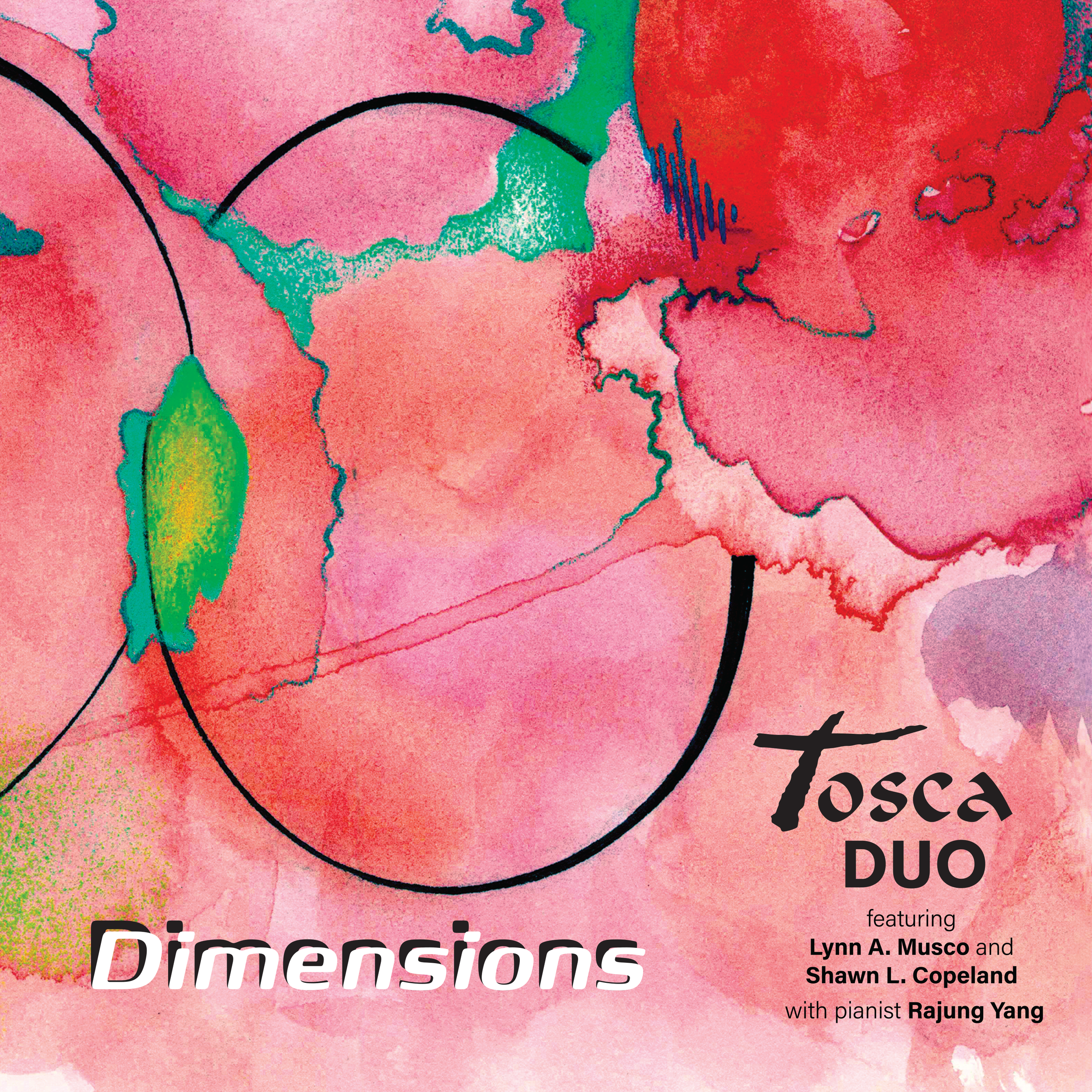 Tosca  DUO with Rajung Yang, released June 2018!  Buy it at  iTunes ,  Amazon , and  CDBaby .