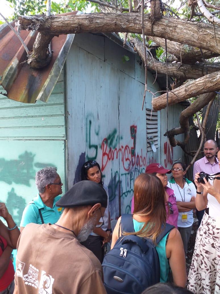 Canal site visit, San Juan