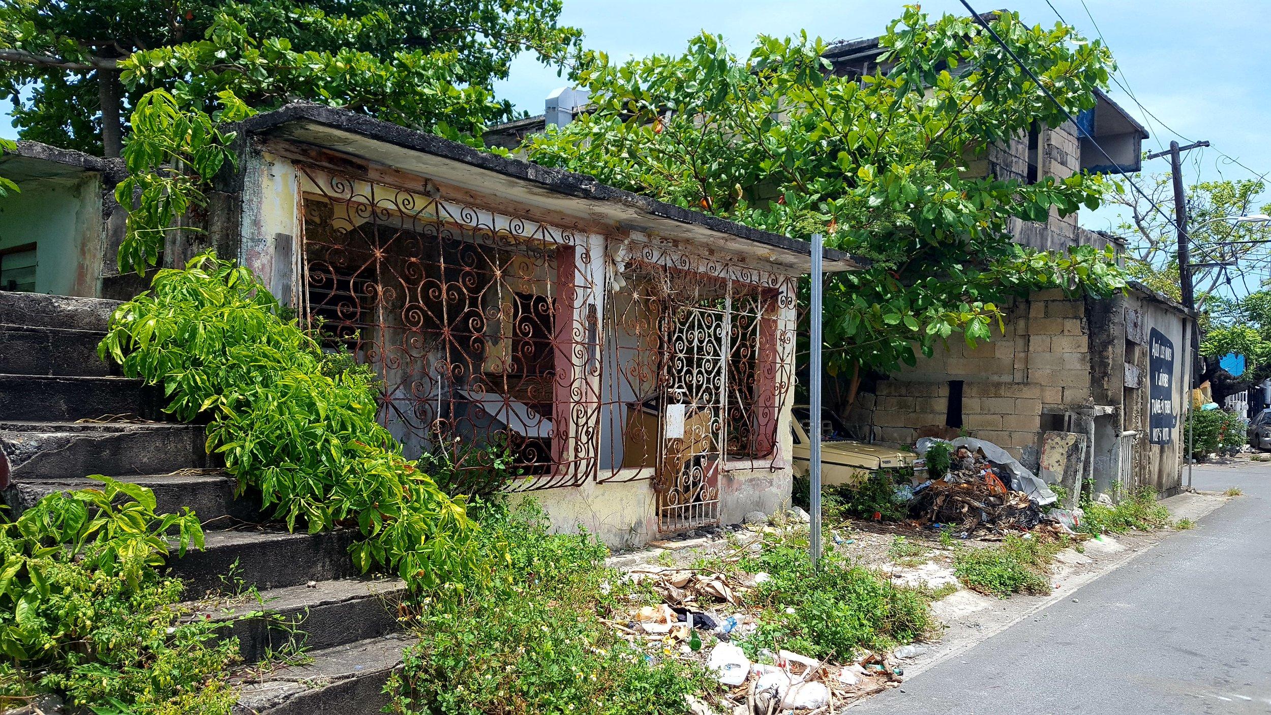 Cano Martin Pina neighborhood site visit, San Juan
