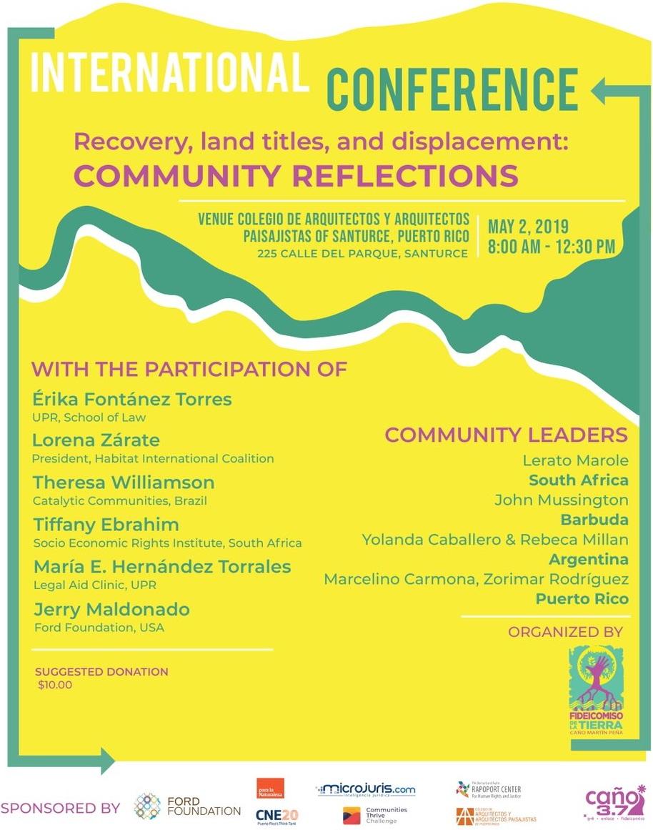 Community Land Trust Conference, San Juan, Puerto Rico
