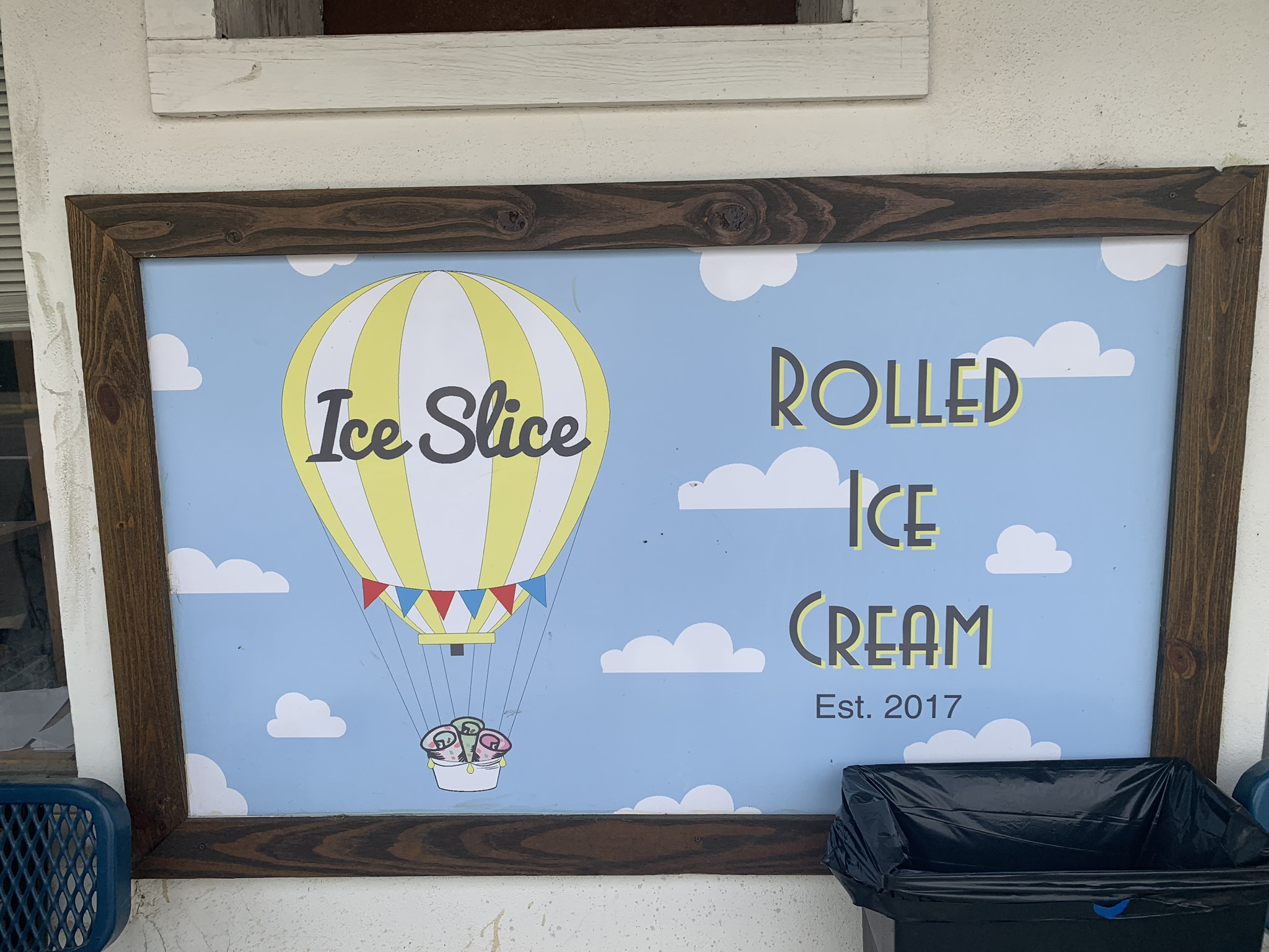 Ice Slice opened two years ago on Sycamore Street.