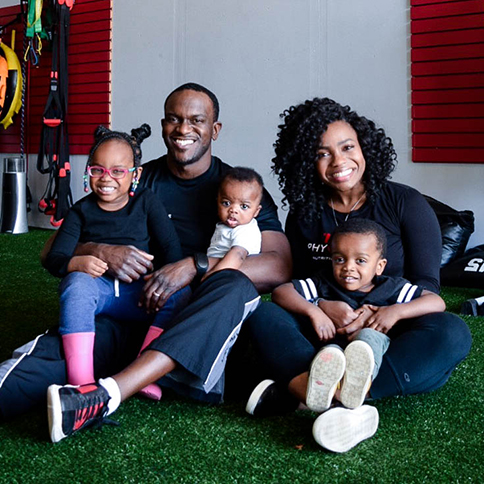 Callins Family, owners of 180Physique in Oklahoma City