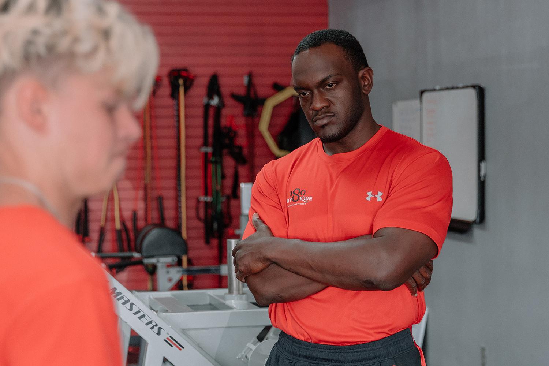 James A. Callins, CSCS coaching student athlete