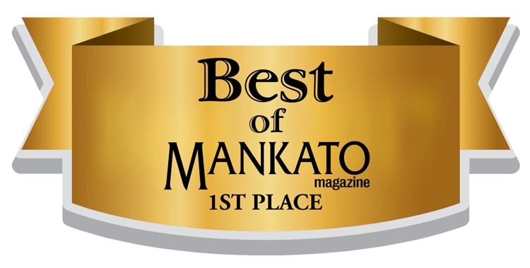 Best Of Mankato Award for 2014, 2015, 2016, 2017, 2018 and 2019. -