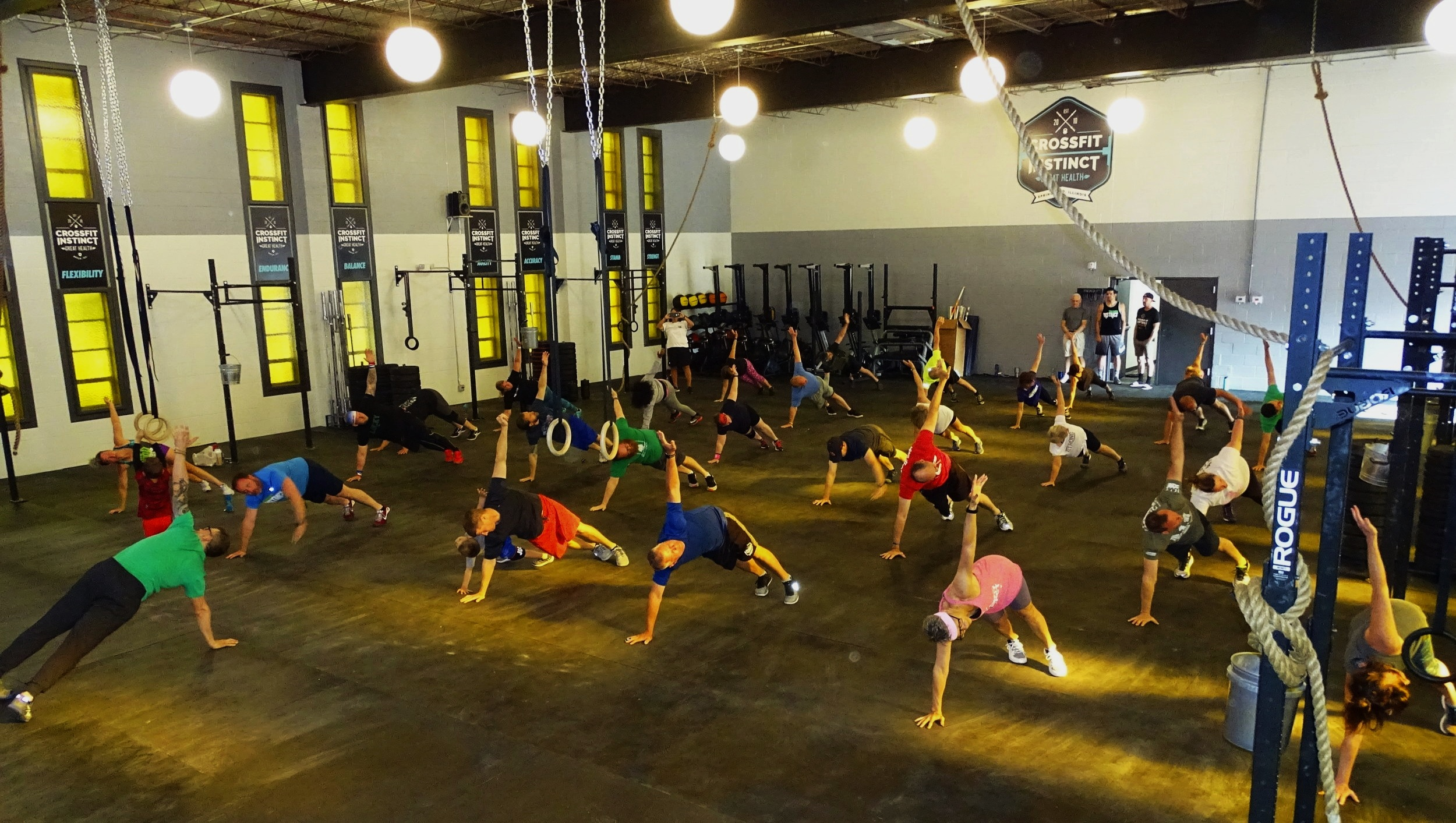 A Place for Everyone - Bring your children, get your parents in better shape, take your own health to the next level, and more. Our doors are open to all: beginners, advanced athletes, young, mature, limited, etc. Come join our family today.